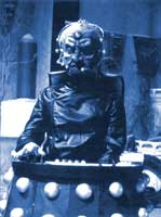 Davros: scientist, genius, and finalist on Celebrity Big Brother.