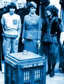 See? I told you the TARDIS wasn't big enough for three companions.